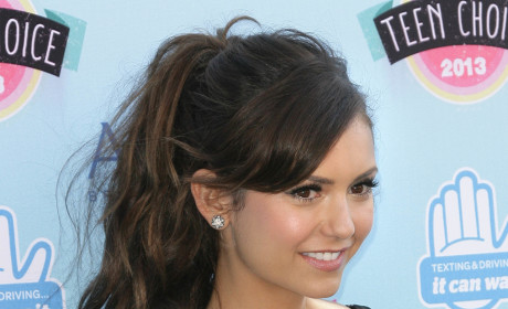 "Nina Dobrev Earns ""Sexiest Style"" Honors From Victoria's Secret"