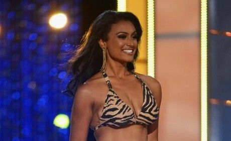 Nina Davuluri Bikini Photo