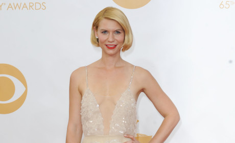 Claire Danes at the Emmys