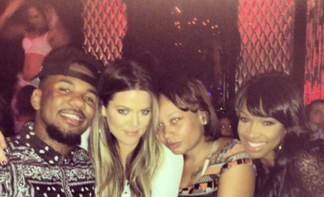 Khloe Kardashian and The Game