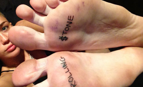 What do you think of Miley's Rolling Stone tattoo?