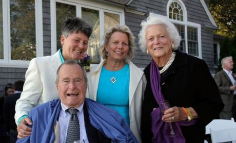 George H.W. Bush Serves as Witness in Same-Sex Marriage Ceremony