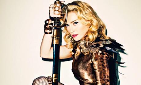Madonna Harper's Bazaar Photo