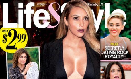 Kim Kardashian on Life & Style Cover