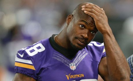 Adrian Peterson Met Son For First Time in Hospital After Attack, Report Indicates