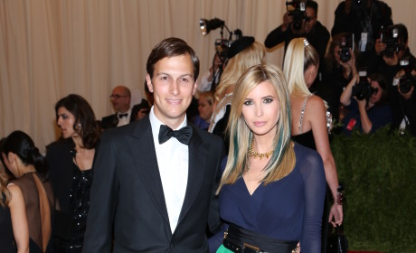 Ivanka Trump and Jared Kushner Pic
