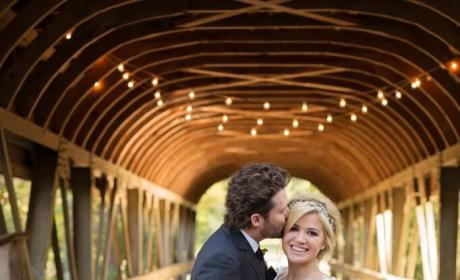 Kelly Clarkson Wedding Photo