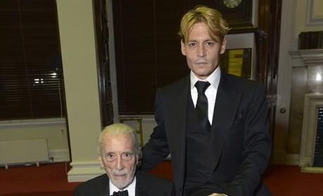 Johnny Depp Blonde Hair