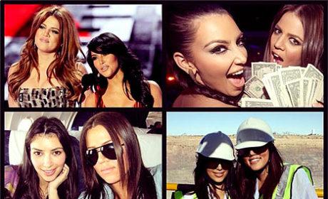 Khloe Kardashian to Kim Kardashian: Happy Birthday!!!