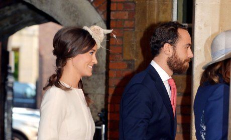 Pippa and James Middleton