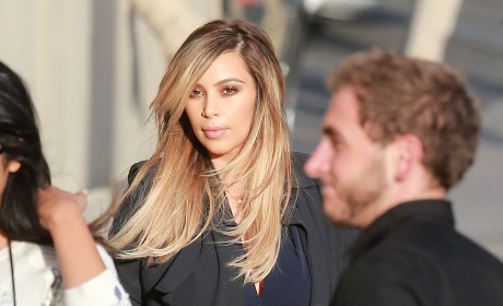 Kim Kardashian on Being Pregnant: It Was Tough!