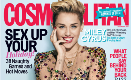 Miley Cyrus: I'm All Anyone Talks About! Literally!