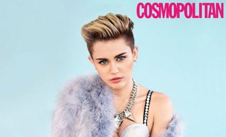 Miley Cyrus Cosmo Pic