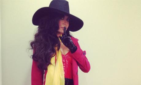 Naya Rivera Halloween