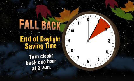 Daylight Saving Time: It's Over (Almost)! Turn the Clocks Back Tonight!