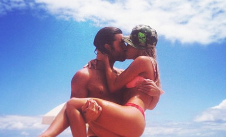 Bryana Holly with Brody Jenner