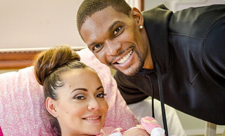 Chris Bosh Welcomes Baby Daughter!