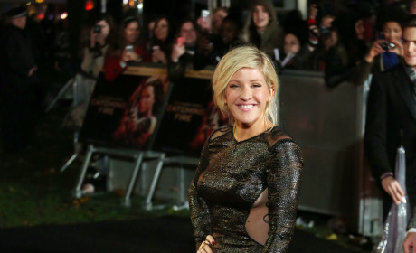 Ellie Goulding at Catching Fire Premiere