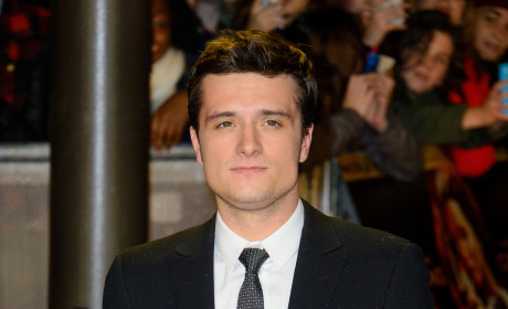 Josh Hutcherson at Catching Fire Premiere