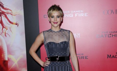 Jennifer Lawrence at Los Angeles Premiere