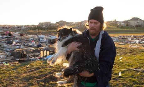 Illinois Tornado Survivor Finds Dog Buried Alive Under Rubble