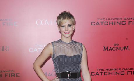 Jennifer Lawrence in LA
