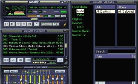Winamp Shut Down After 16 Years; Tech Community Mourns MP3 Player of Yore