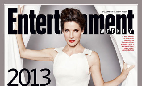 Sandra Bullock Named EW Entertainer of the Year