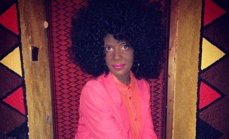 Jeanne Deroo in Blackface