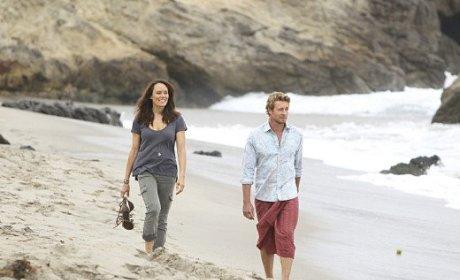 Jane on the Beach