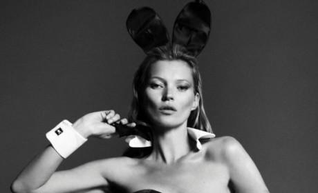 Kate Moss Playboy Photo