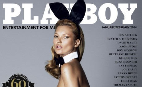 Kate Moss Playboy Cover & Photos: Revealed!