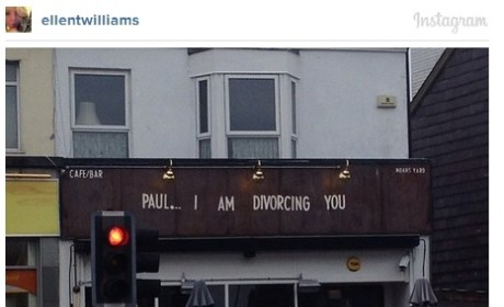 Woman Announces She's Divorcing Cheating Husband on Bar Sign