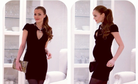 Caroline Berg Eriksen, Tiny Baby Bump Still Getting Grief From Internet