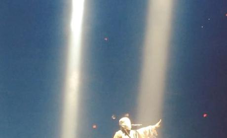 Kanye West on Stage