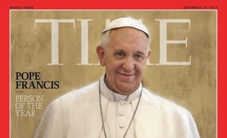 Pope Francis Named Time Person of the Year