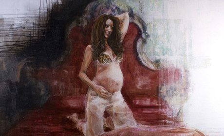 Kate Middleton Pregnant Lingerie Portrait Raises Eyebrows, is (Thankfully) Unofficial
