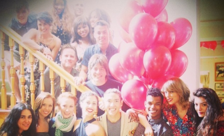 Taylor Swift Birthday Party Pic