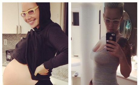 Amber Rose Flaunts Post-Baby Body, Adorable Son