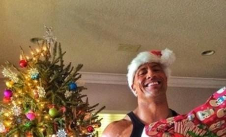 The Rock on Christmas