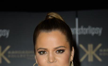 Khloe Kardashian in All Black