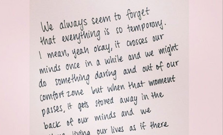 Khloe Kardashian on Instagram: Everything is Temporary...