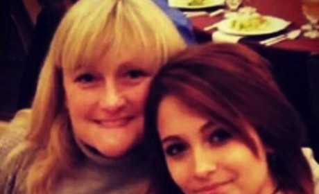 Paris Jackson, Debbie Rowe Picture