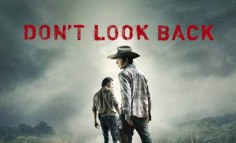 The Walking Dead Midseason Premiere Poster: Don't Look Back!