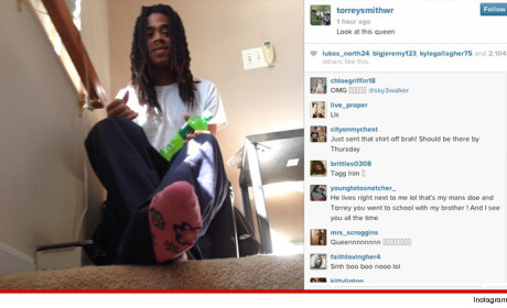Torrey Smith Posts Homophobic Twit Pic, Refuses to Apologize