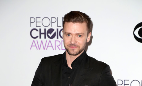 Justin Timberlake at the PCAs