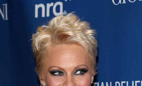 Pam Anderson with Short Hair