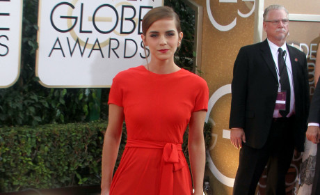 Emma Watson at 2014 Golden Globes