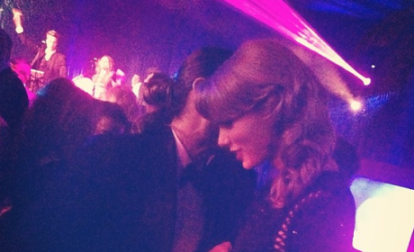 Jared Leto and Taylor Swift