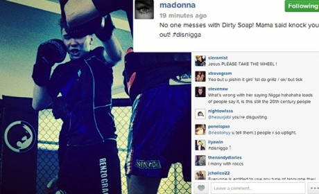 "What do you make of Madonna referring to her son a a ""nigga?"""